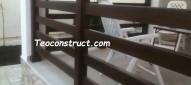 Balustrade din lemn pentru exterior