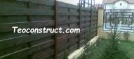 Modele garduri din lemn