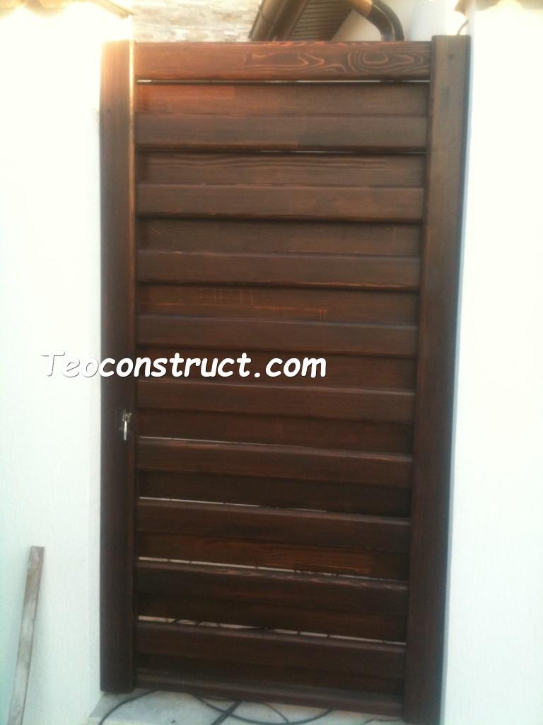 modele porti din lemn 07