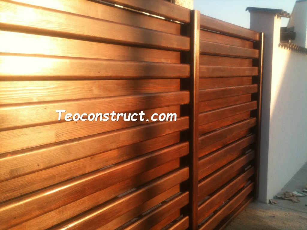 modele porti din lemn 10