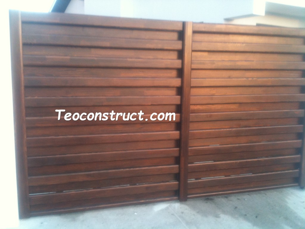 modele porti din lemn 12