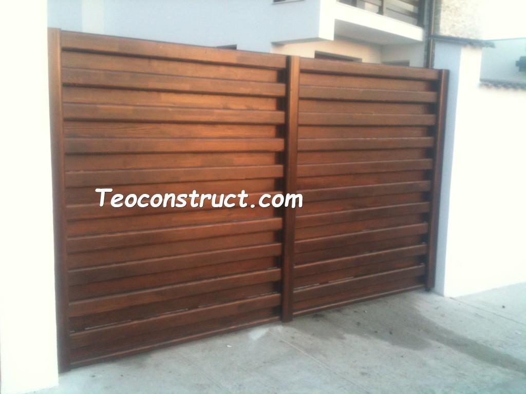 modele porti din lemn 13