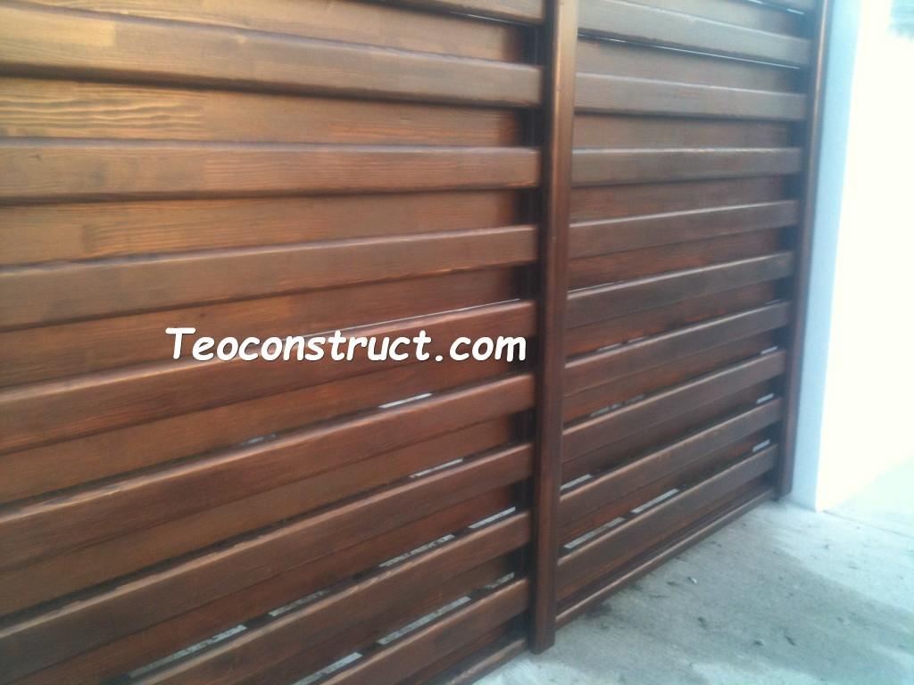 modele porti din lemn 15