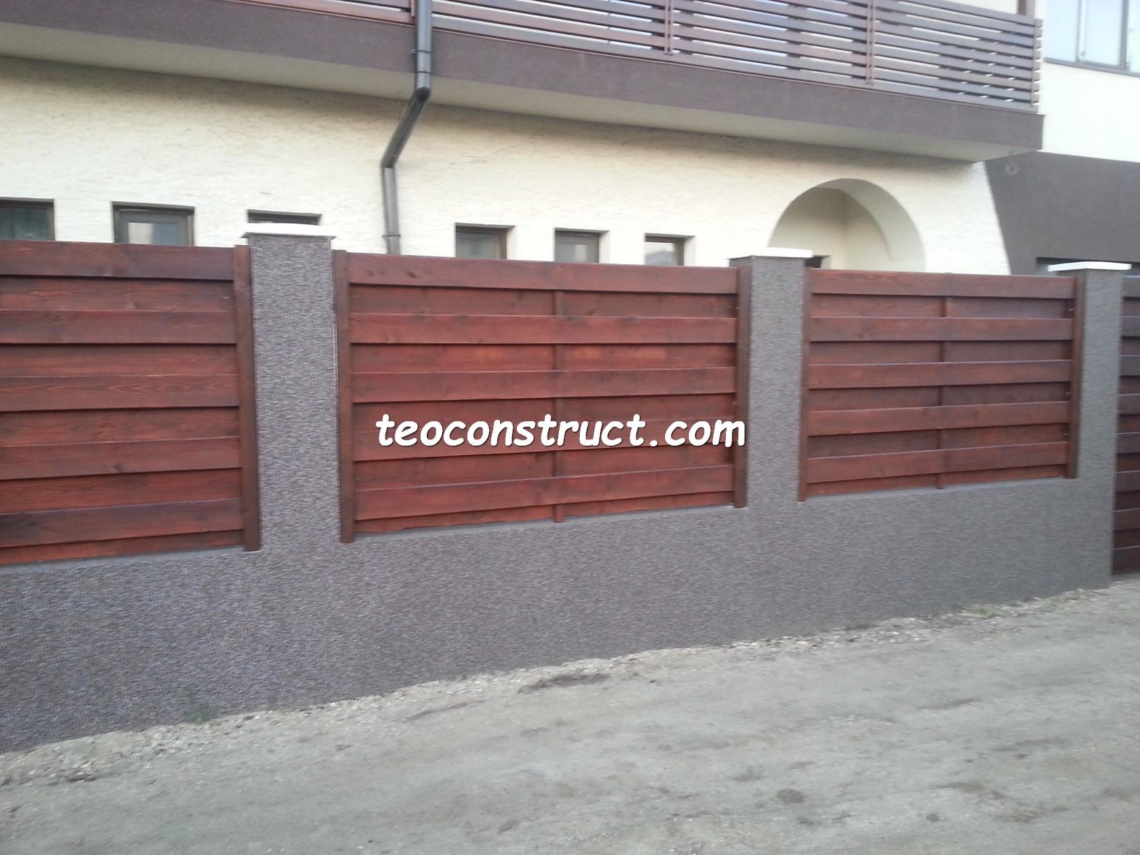 garduri din lemn rustice 1