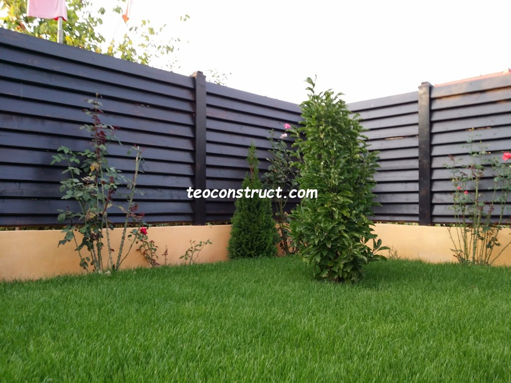 preturi garduri din lemn orizontale 10
