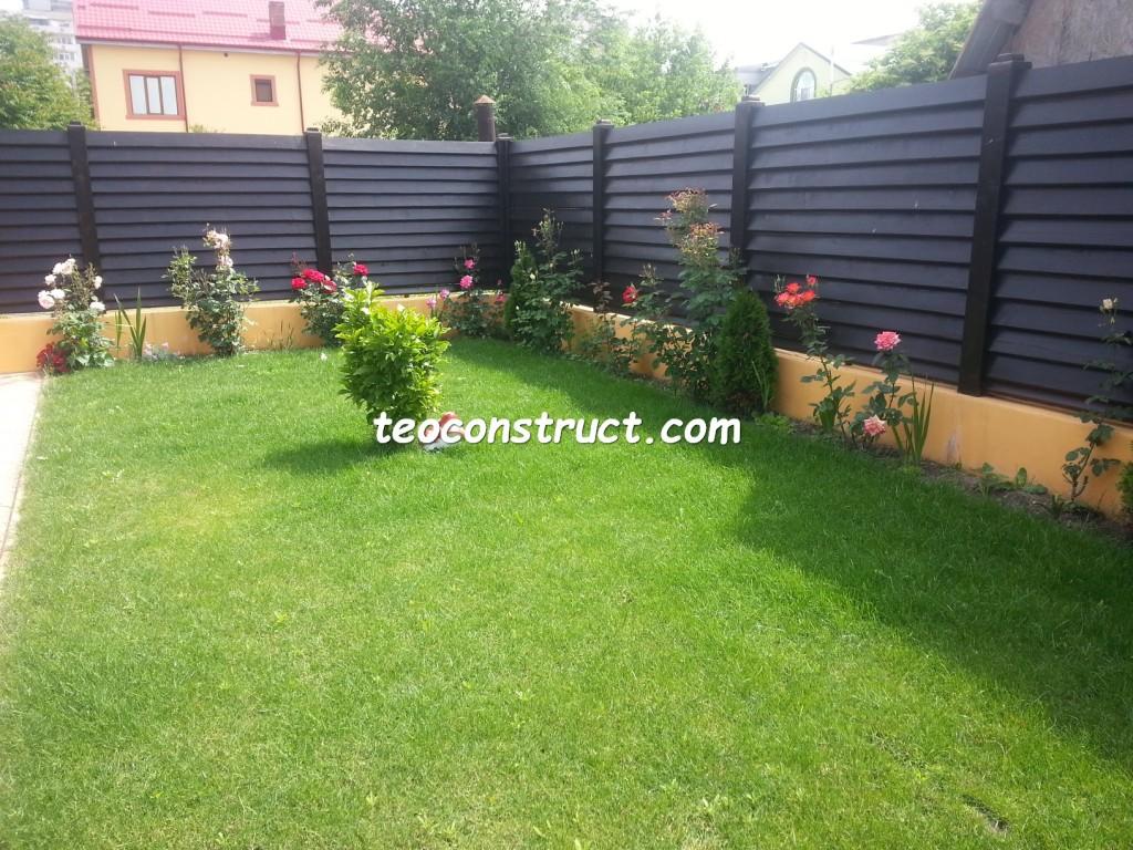 preturi garduri din lemn orizontale 3