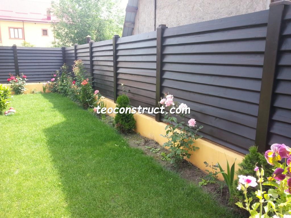 preturi garduri din lemn orizontale 4