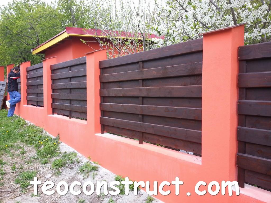 gard din lemn model matrice 02