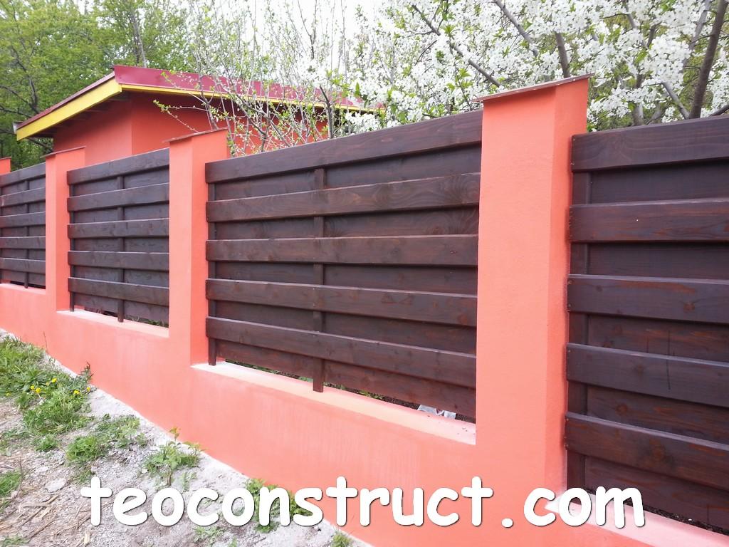 gard din lemn model matrice 04