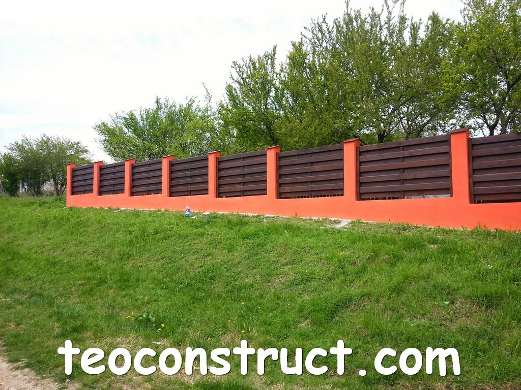 gard din lemn model matrice 05