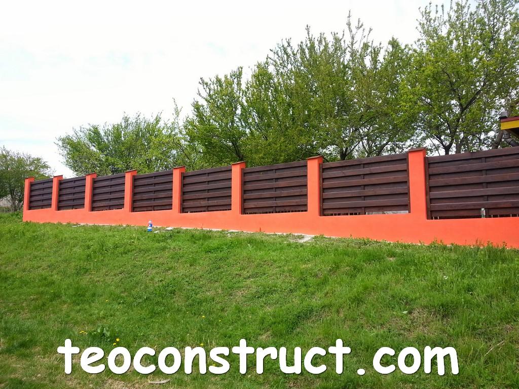 gard din lemn model matrice 06