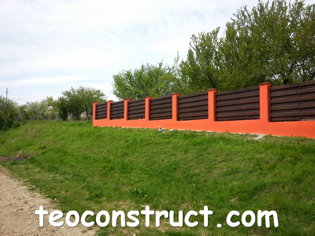 gard din lemn model matrice 07