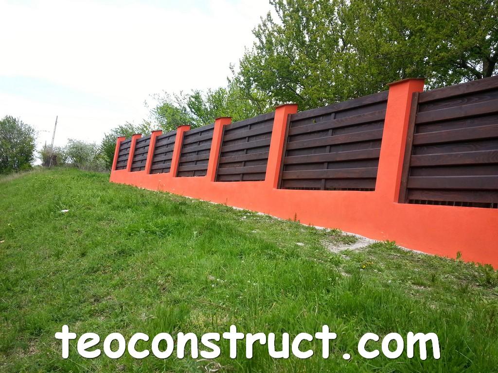 gard din lemn model matrice 29