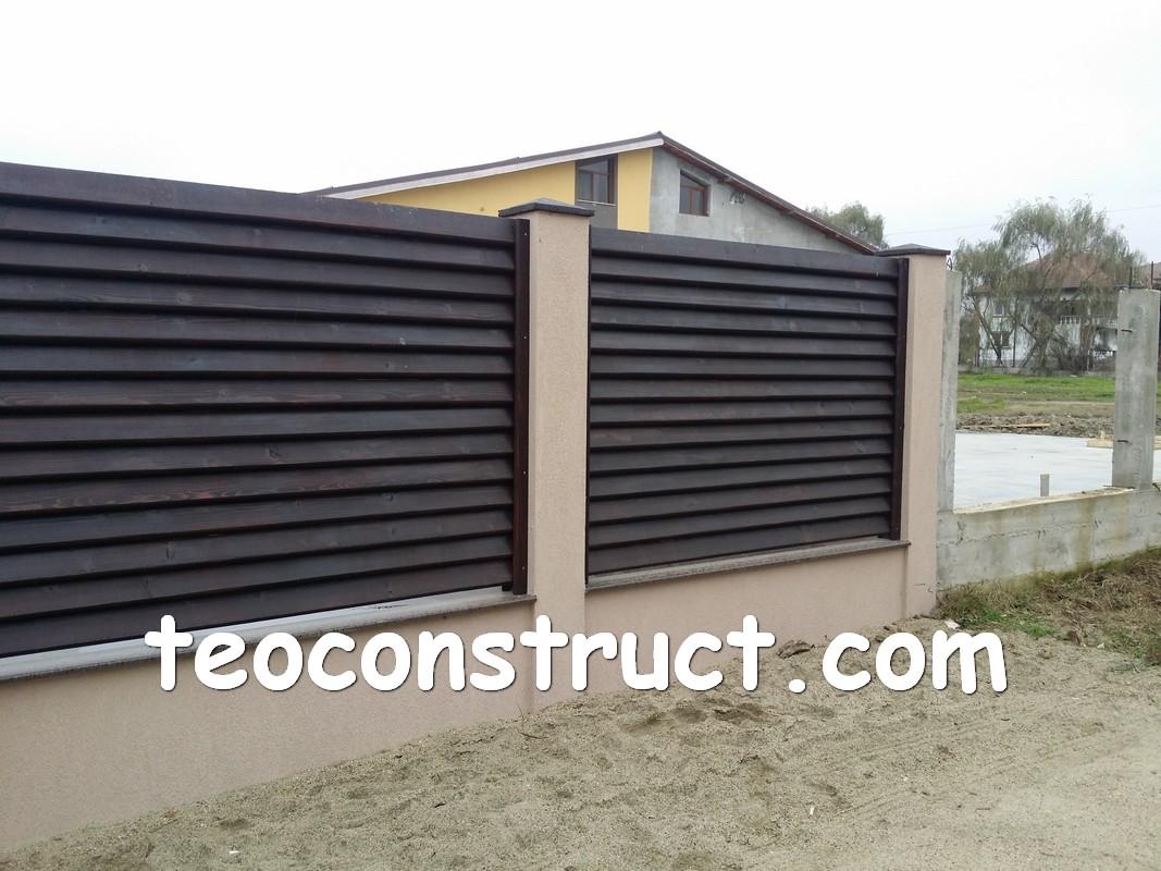 garduri de lemn poze foisoare din lemn garduri din lemn