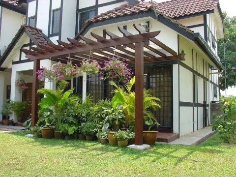 terase din lemn de exterior