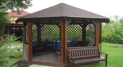 Foisoare din lemn hexagonale sau octogonale oferta de pret