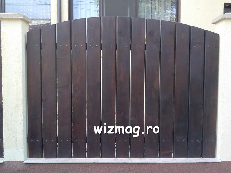 garduri din lemn cu lamele verticale 01