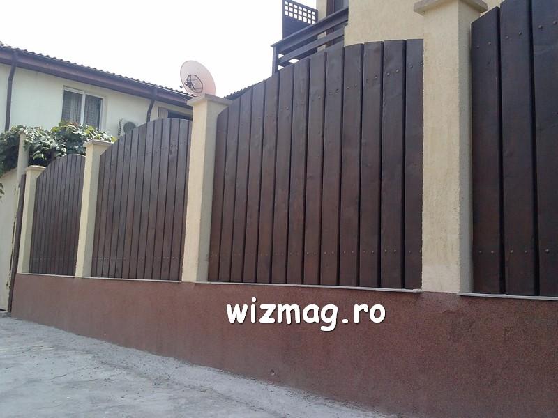 garduri din lemn cu lamele verticale 05