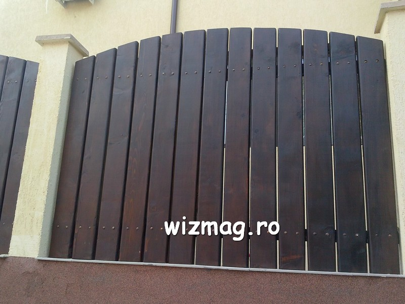 garduri din lemn cu lamele verticale 06
