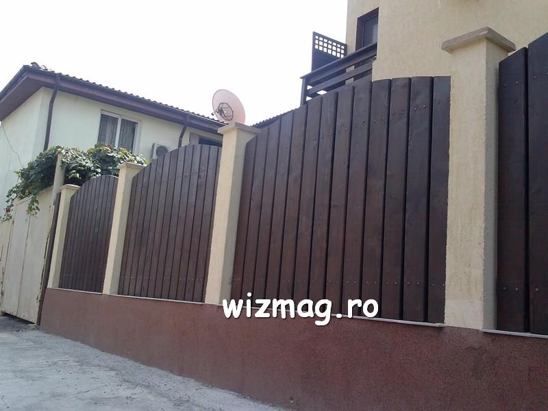 garduri din lemn cu lamele verticale 07