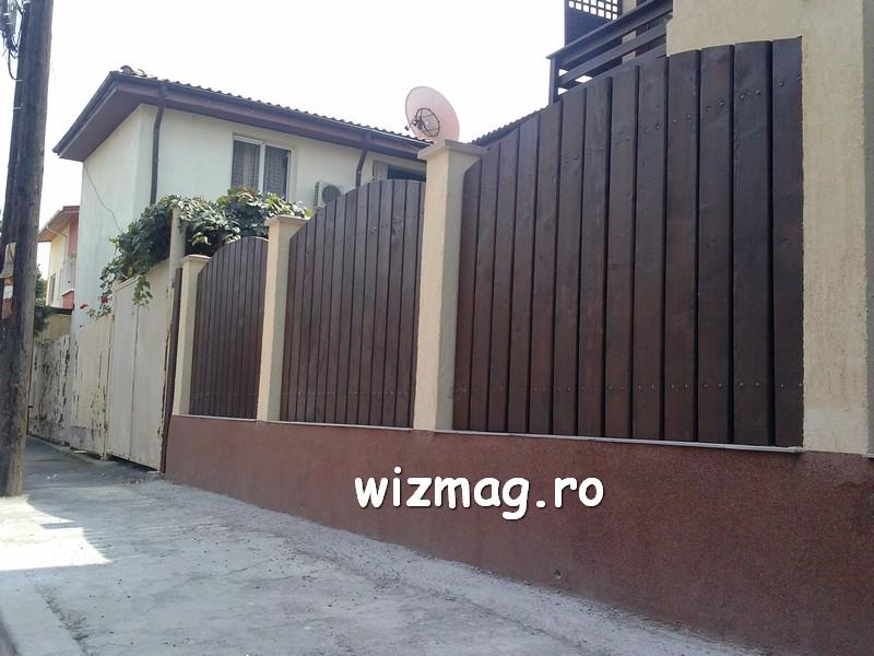 garduri din lemn cu lamele verticale 08