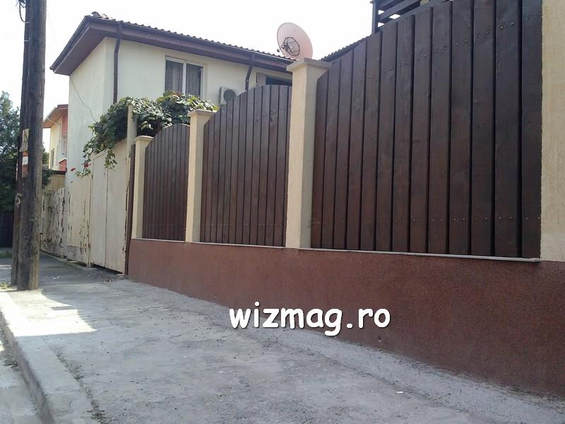 garduri din lemn cu lamele verticale 09