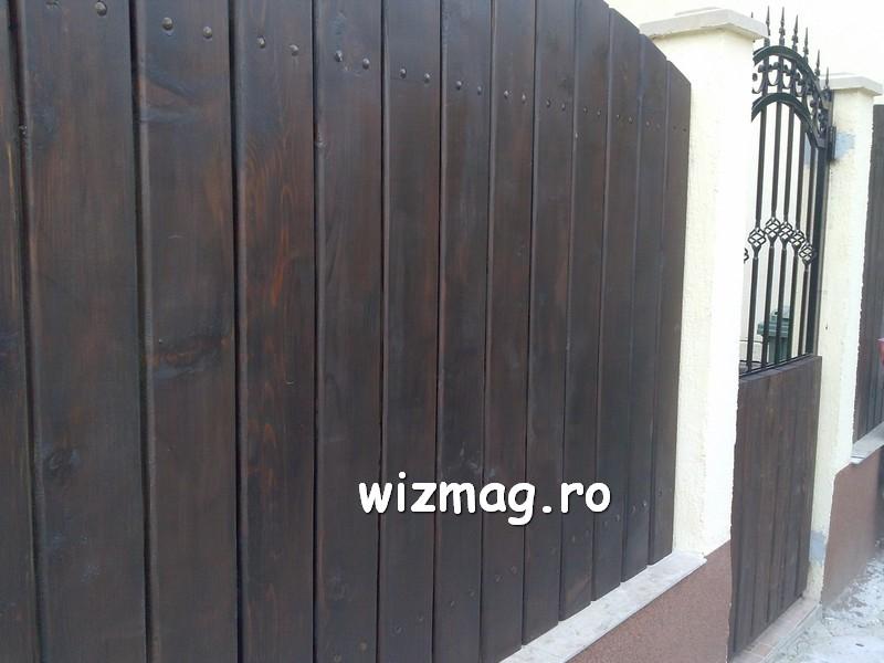 garduri din lemn cu lamele verticale 17