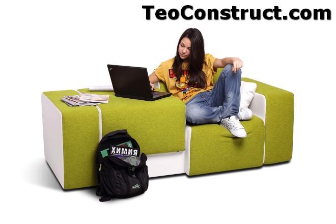 Canapea pentru adolescenti Lego03