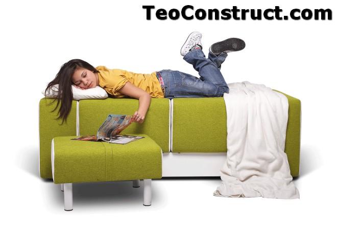 Canapea pentru adolescenti Lego05