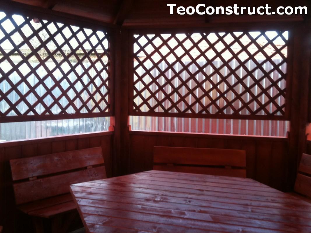 Foisoare de gradina din lemn Bucuresti4