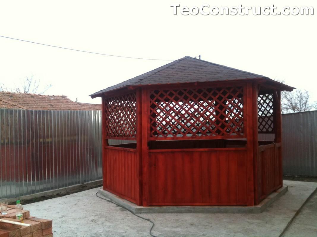 Foisoare de gradina din lemn Bucuresti6