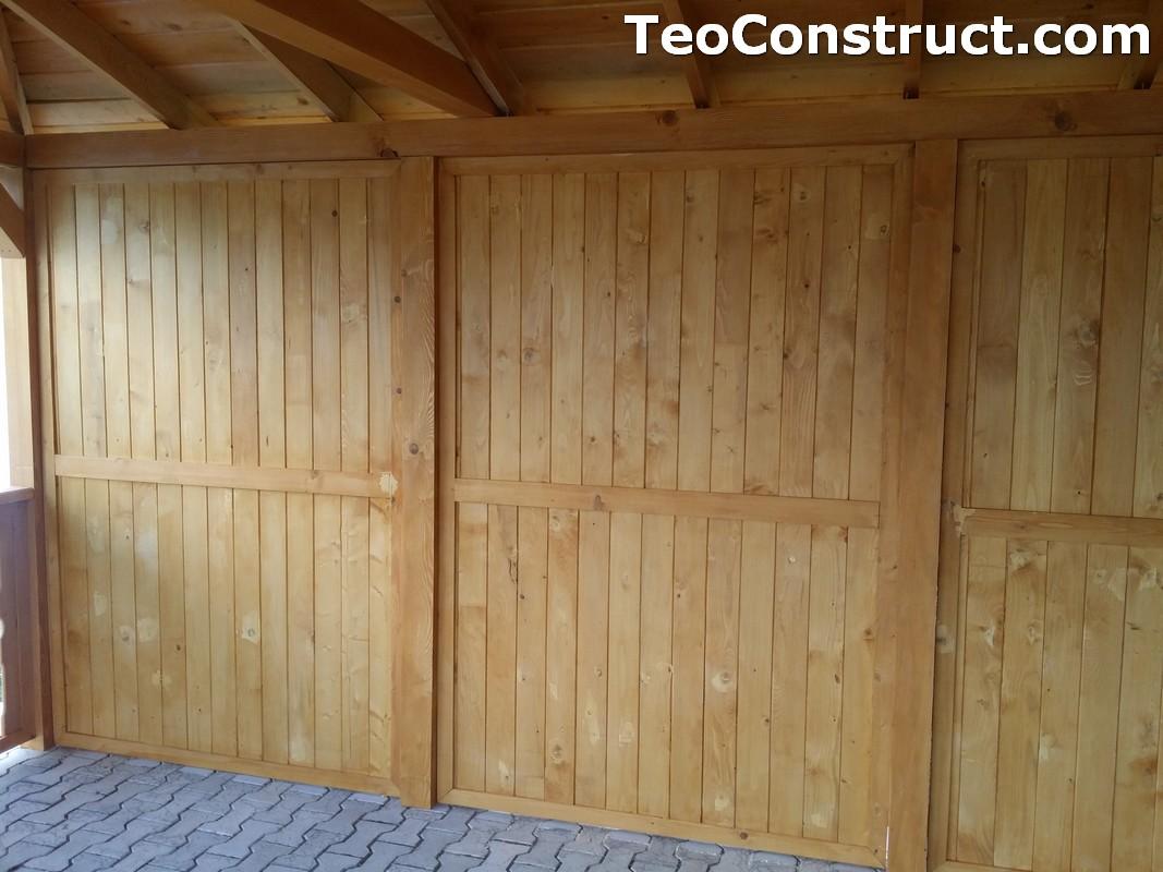 Foisoare de gradina din lemn Buzau2