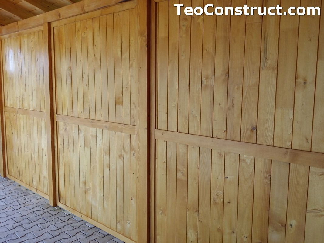 Foisoare de gradina din lemn Buzau21