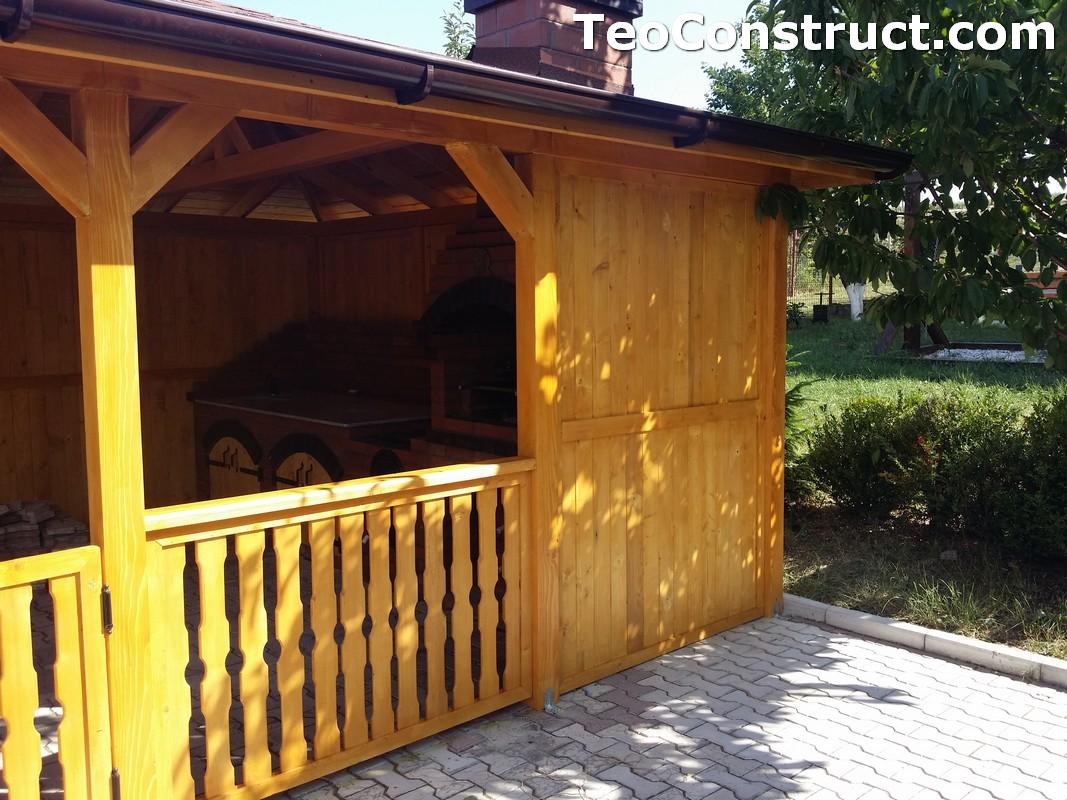 Foisoare de gradina din lemn Buzau23