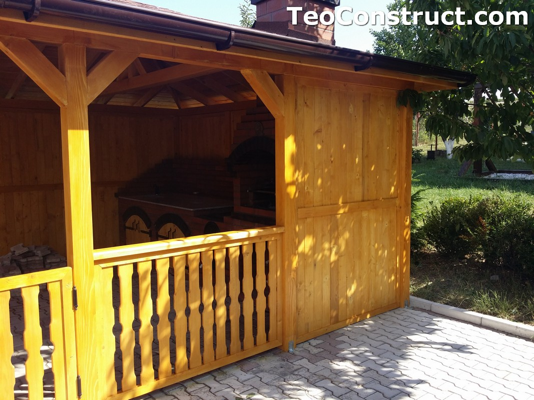 Foisoare de gradina din lemn Buzau24