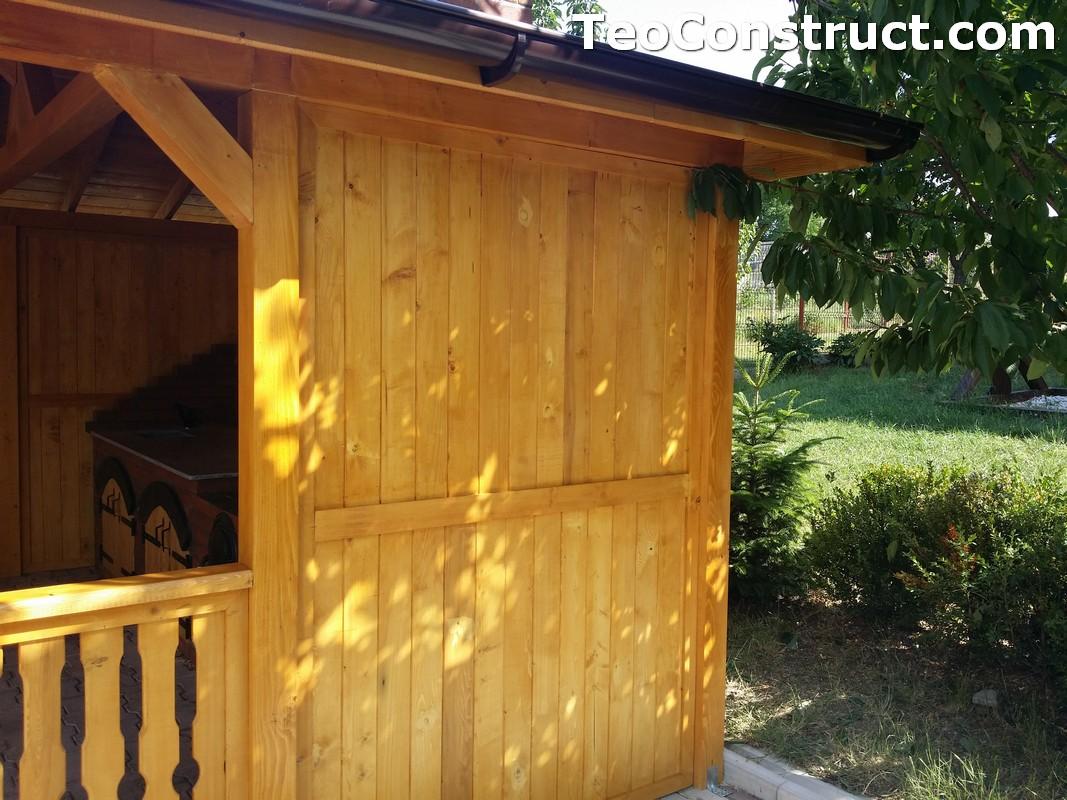 Foisoare de gradina din lemn Buzau25
