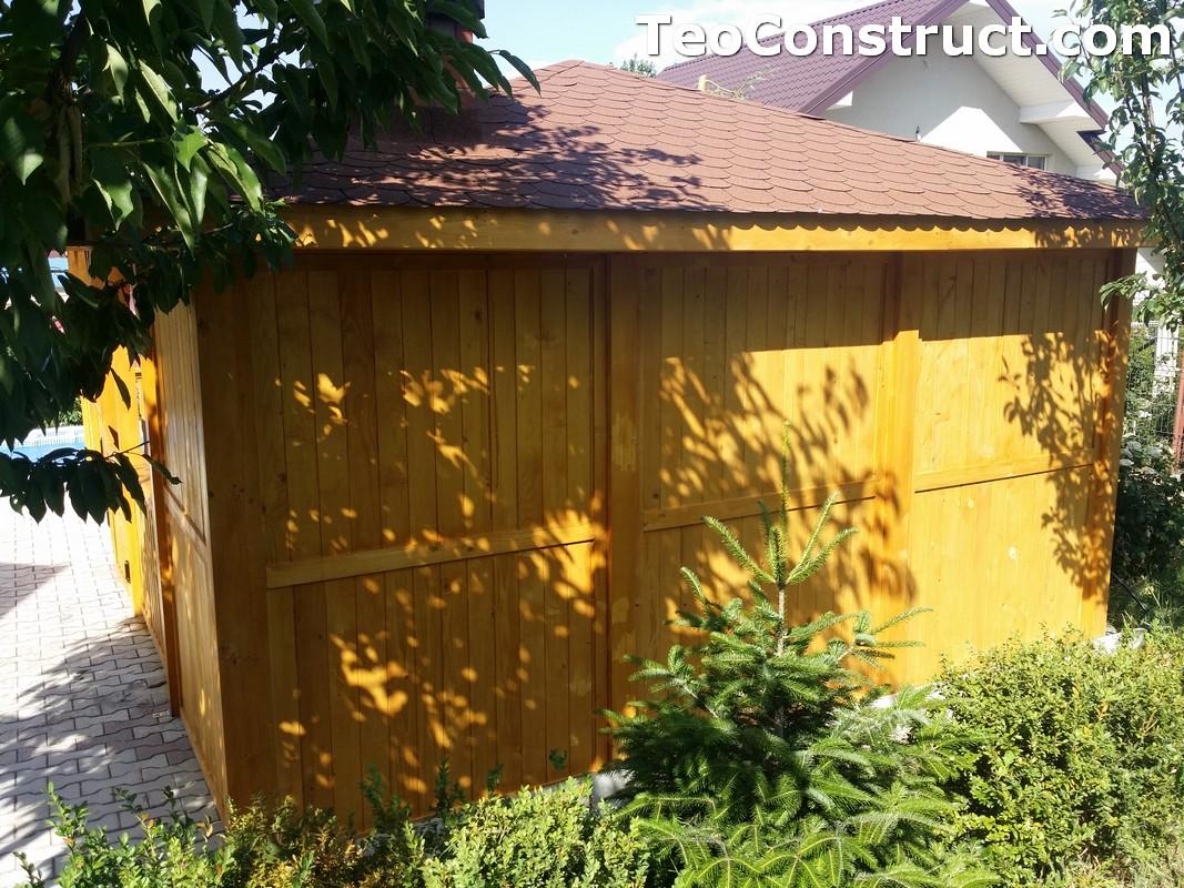 Foisoare de gradina din lemn Buzau29