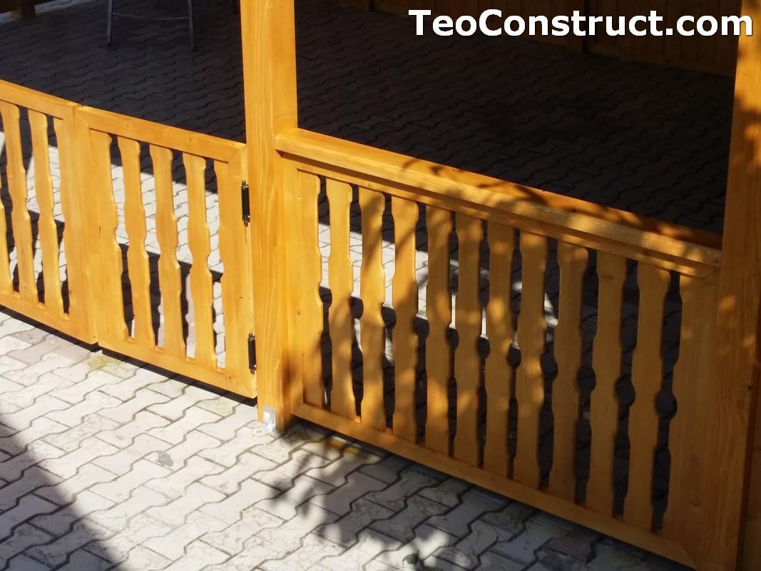 Foisoare de gradina din lemn Buzau41