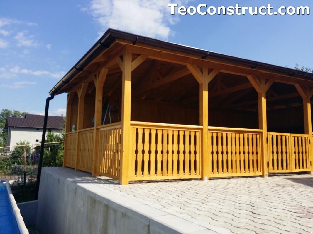 Foisoare de gradina din lemn Buzau42