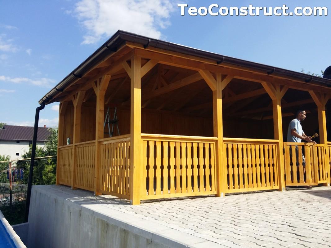 Foisoare de gradina din lemn Buzau43