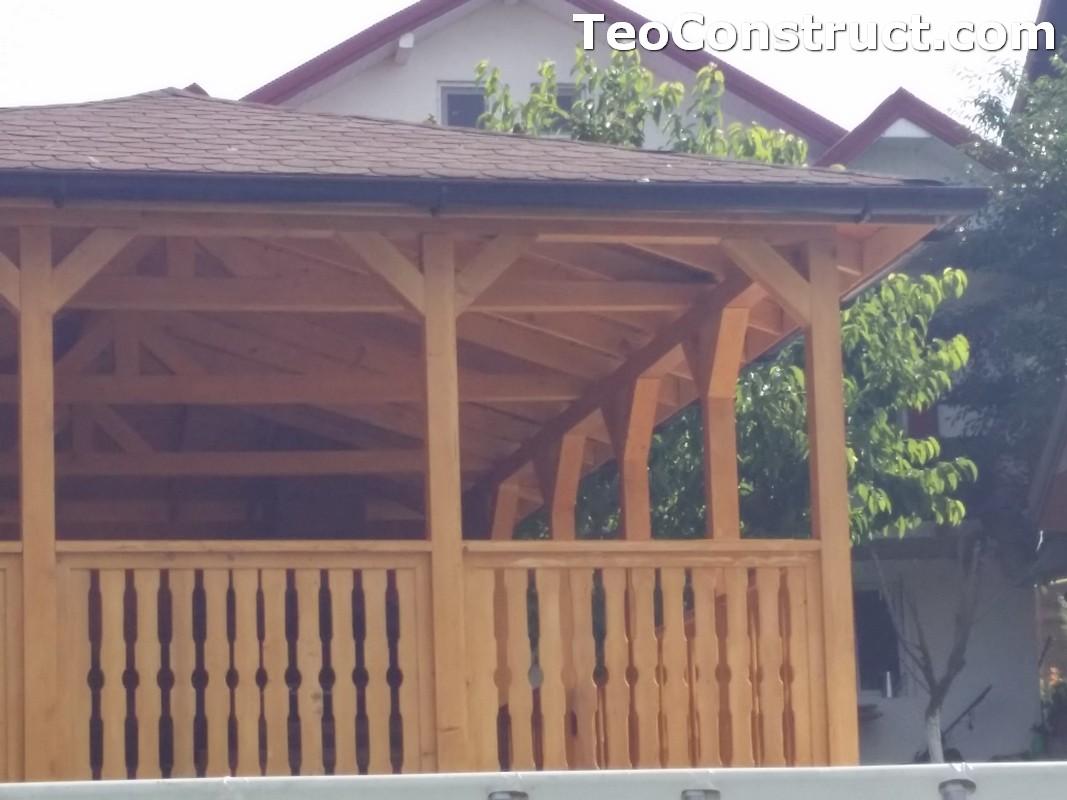 Foisoare de gradina din lemn Buzau45