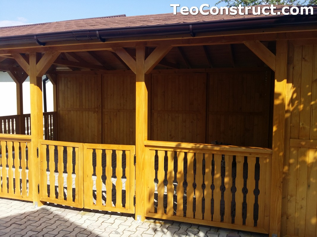Foisoare de gradina din lemn Buzau47
