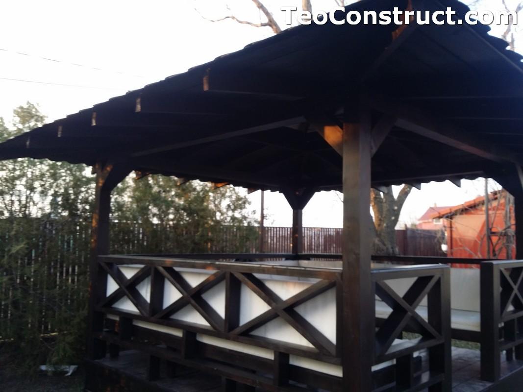 Foisoare de gradina din lemn Pitesti14