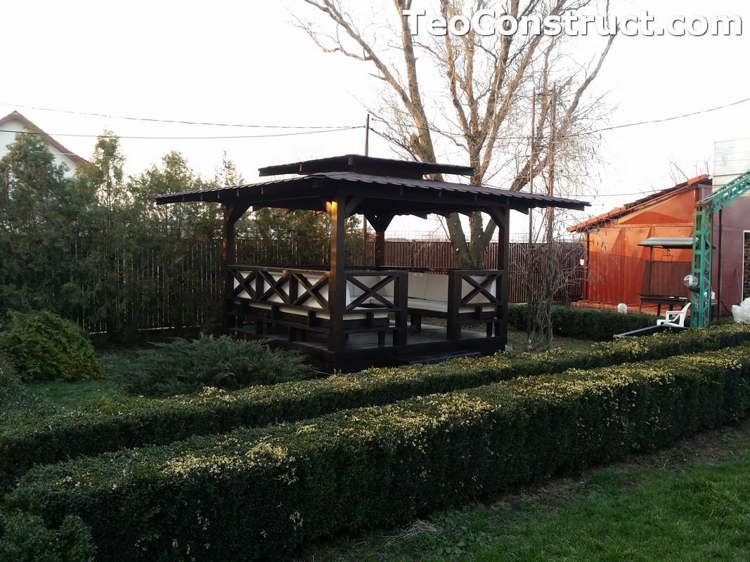 Foisoare de gradina din lemn Pitesti16
