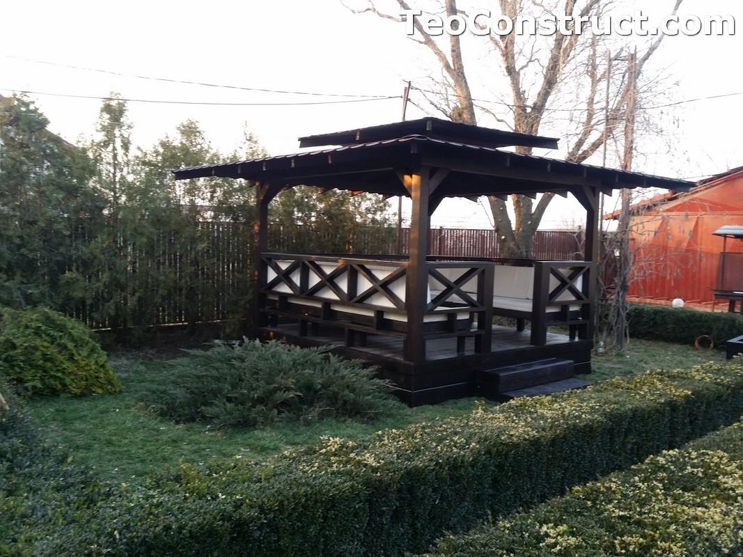 Foisoare de gradina din lemn Pitesti18
