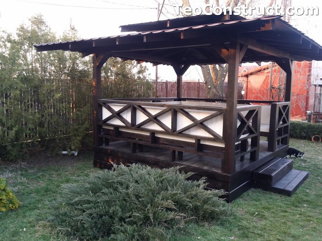 Foisoare de gradina din lemn Pitesti21