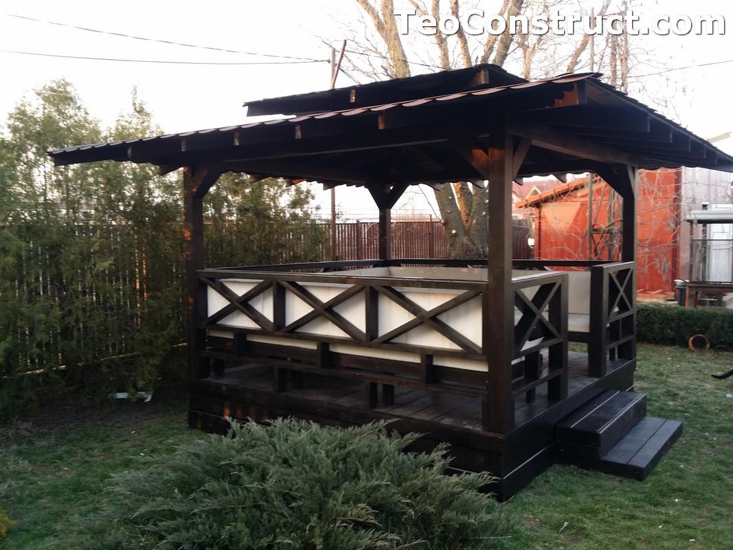 Foisoare de gradina din lemn Pitesti22