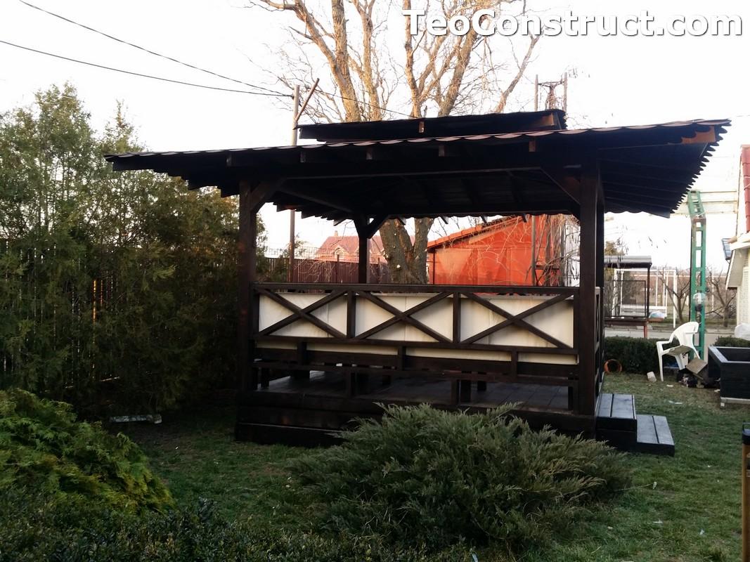 Foisoare de gradina din lemn Pitesti23
