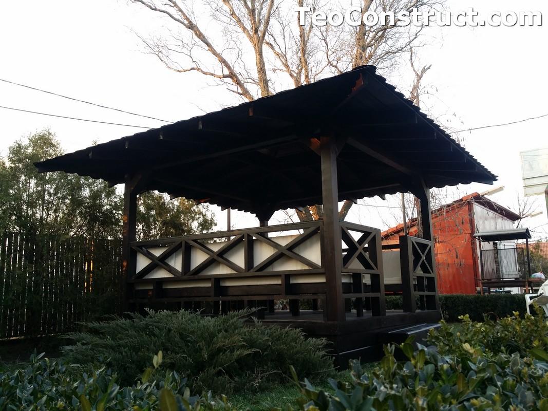 Foisoare de gradina din lemn Pitesti25