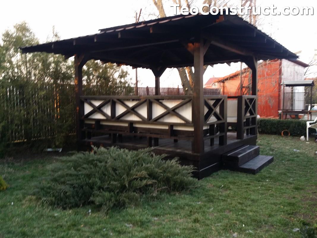 Foisoare de gradina din lemn Pitesti26